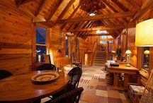 Rustic Interiors / We are in the Northwoods... Naturally, we can't get enough of design inspired by the outdoors.