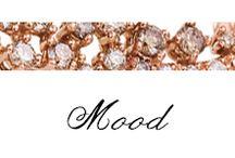 Mood / #Bibigì propone una collezione sia retrò che classica, Mood si adegua ad entrambe le versioni in oro rosso e oro bianco per qualsiasi stato d'animo.