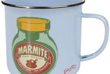 Marmite mugs, cups etc