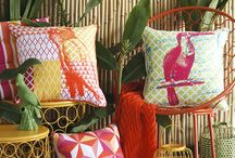 Infuse a Summer Theme in Your Home by Accessorizing / Some fresh and fun ideas