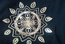 Meus bordados / Bordados feitos por mim.