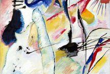 Arte / Painel dedicado ao estudo dos artistas e referências visuais que nos inspiram.