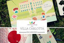 """Villa Carlotta KIDS / Per il Museo Giardino Botanico di Villa Carlotta sul Lago di Como abbiamo progettato e realizzato la linea """"Villa Carlotta KIDS"""", una serie di prodotti in cartotecnica che raccontano la Villa e le sue bellezze in un modo tutto nuovo, permettendo ai bambini di sviluppare le proprie capacità di storytelling e di continuare a casa la piacevole esperienza cominciata nel museo."""