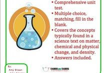 Atomic Structure and Matter / Chemistry lessons on atomic structure and matter. / by Science Stuff