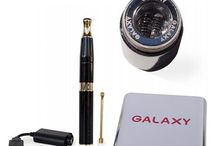 Kandypens Galaxy Vape Pen / The Galaxy Vape Pen by KandyPens is a sleek, smart and very potent vaporizer. On the outside it is elegant, well built and stylish and on the inside it offers a lot of innovation. The glossy enamel sparkle finish of this vaporizer makes it a very trendy and good looking vaping device.