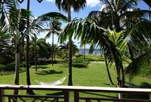 Four Seasons Resort Nevis / The Four Seasons Resort Nevis adds to the island charm with its palm tree lined entrance, sugar mill ruins, gingerbread cottages, infinity pools, award-winning spa, beachfront cabanas, and spacious villas and residences surrounded by lush gardens and the 3 mile white sandy beach - link to this article:  http://goo.gl/ov9dW8 Visit www.GlobalAdventuress.com to read/see more!