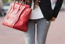 FASHION - OUTFITS - GREY JEANS