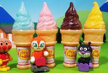アンパンマンおもちゃアニメ❤夏はソフトクリームのシャボン玉! Anpanman toys