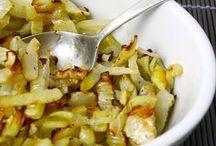 insalata di finocchi al forno