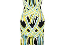 dearWYW Women's Fashion Sexy Black Yellow Tassel Rayon Sleeveless Empire Strapless Dress