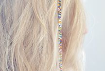 Beading hair clips / by Debbie Misuraca