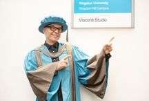 Visconti Studio launch / A collection of photos from the launch of Kingston University's Visconti Studio during which legendary music producer Tony Visconti was awarded with an honorary degree.  The analogue recording studio is based around an octagonal-shaped live room and is the focal point of a research and teaching project between Visconti, students, staff and invited guest artists.