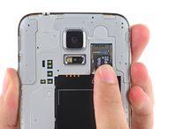 Utskifting av Samsung Galaxy S5 microSD-kort / Hvordan skifte microSD-kort på Galaxy S5?