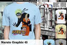 Naruto Shipudden T shirt | Kaos Naruto Shippudden