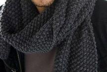 Knitting patterns - scarf