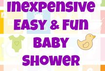 Baby Shower Ideas / Planning a baby shower? Find baby shower games, baby shower food, baby shower decoration and general baby shower party ideas here.