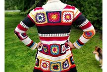 granny square clothing / by Sonja
