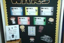 School - Star Wars theme