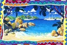 My Island Paintings & Prints