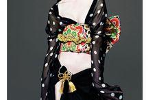High Fashion Couture Kimono Shoot Ideas