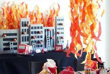 Festa bombeiros / Aniversário infantil