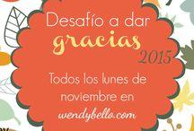 Desafío a dar gracias 2015