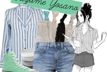 anime and cartoons fashion style ^^