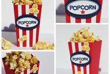 SU Popcorn-Schachtel