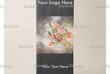 Vertical Retractable Banners / Do it yourself - just ad your logo and text to the banner with the perfect picture for your campaign.
