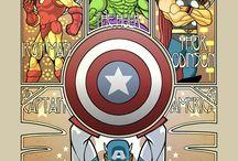 Super heros / by Jodie Stephenson
