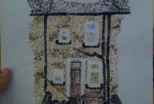 My pointillism home