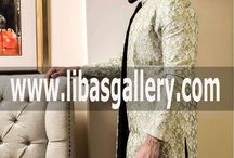 Wedding Sherwani suit for Dulha Groom Nosha 2018 / Wedding Sherwani Suit in suiting fabric jamawar raw silk  velvet karandi kimkhuwab etc plain and embroidered sherwani suit for Shadi Marriage Wedding Occasion Function for Men Dulha Groom Nosha Shahbala whole family sherwani outfit solution online store for custom made sherwani suit for wedding and shadi place order online or send inquiry whatsapp no: +447451236886  website:  www.libasgallery.com  Email: info@libasgallery.com