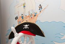 Childrens Pirate Bedroom Design / Pirate bedroom at a Gleeson Show home in Co Durham