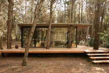 fa és ház