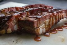 BBQ By Others / various bbq recipes from multiple Pinterest members / by Pigskin Barbeque