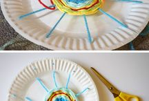 Weaving fine motor activities