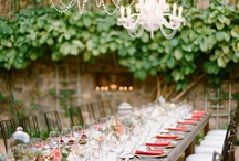 Setting the Stage / From table spreads, to reception decorations, to jewelry accessories for you and your bridesmaids, to  make up the day of your dreams.