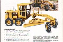 Marketing brochures for old equipment