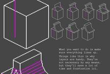 pixel isometric art