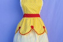 Old fashion aprons