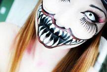 Halloween makeup Costumes