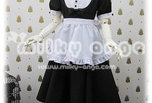 milky ange-Maid-Basic Style For Kids