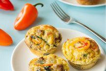 Egg muffins/frittatas