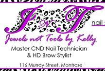 Jewels Not Tools By Kelly / CND Master Award Winng Nail Technician Album