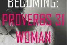 WOMAN PROVERB 31 & HERBS