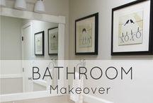 Bathrooms / by Buddhapuss Ink LLC Bradley