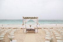 My Wedding at the Beach / Ideas para una boda en la Playa