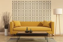 Modern Mode / Fun, lively, bold -- bring your space up to date with these modern patterns. http://www.tyles.co