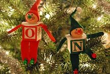 christmas ornaments / variety Christmas ornaments