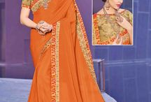 2632 Hello floral design heavy designer Saree